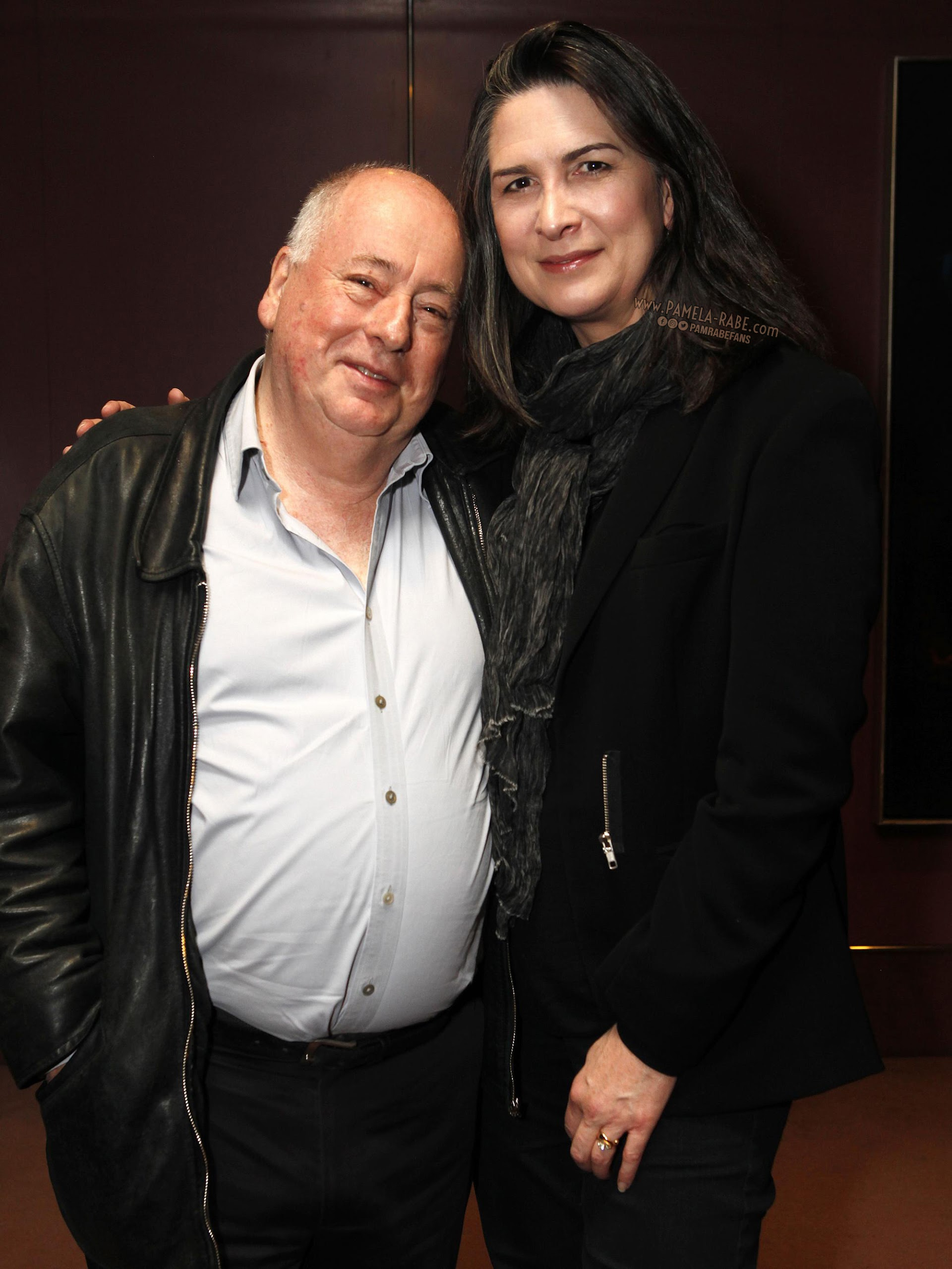 Pamela Rabe and Roger Hodgman