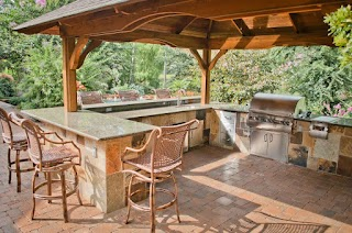 Gazebo Outdoor Kitchen S Arbors S Mirror Lake Designs