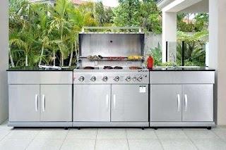 Stainless Outdoor Kitchens Steel Kitchen Cart Krisime