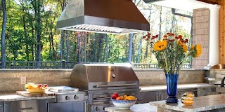 Outdoor Kitchen Vent Hood Cooking in 2019 S