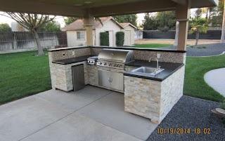 Outdoor Kitchen Construction Wake