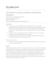 Committee on Zoning, Landmarks and Building Standards
