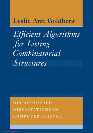 0521450217, 0521117887 {7372177A} Efficient Algorithms for Listing Combinatorial Structures [Goldberg 1993-06-25].pdf