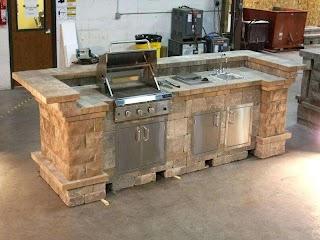 Outdoor Kitchens Plans How to Build DIY Kitchen Impressive Kitchen