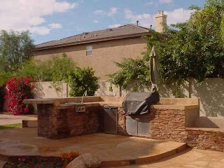 Outdoor Kitchens Arizona Kitchen Ideas Landscaping Grilling Patio Designs