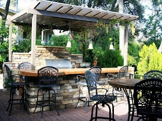 Simple Outdoor Kitchen Designs Cheap Ideas Hgtv