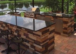 Quartz Countertops for Outdoor Kitchens Kitchen Cabinets Flooring