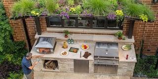 Outdoor Kitchens Plans Chicago Kitchen Kalamazoo Gourmet
