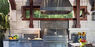 Outdoor Kitchen Vent Hood Grill S Bbq Ilation Kalamazoo Gourmet