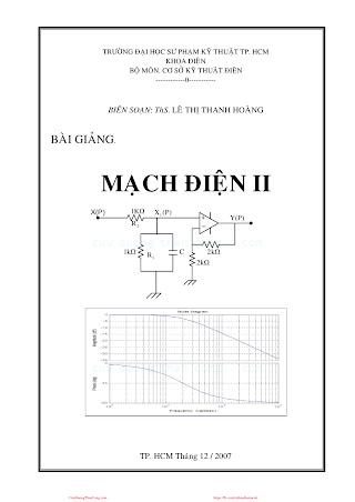 SPKT.Bài Giảng Mạch Điện 2 - Ths. Lê Thị Thanh Hoàng, 98 Trang.pdf