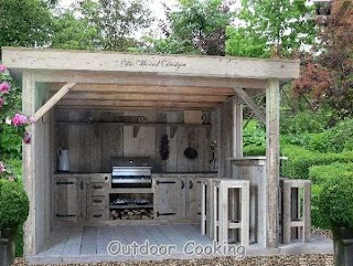 Rustic Outdoor Kitchen Buitenkeuken Living Outdo
