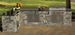 Stone for Outdoor Kitchen S Cambridge Pavings Living Solutions With