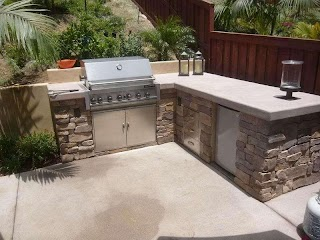 L Shaped Outdoor Kitchen San Marcos Ca Photo Gaery Andscaping Network