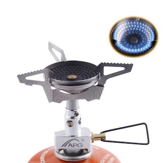 Outdoor Camping Kitchen Equipment Anti Scald Furnace Burners Portable Gas Stoves Best Mini