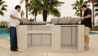 Prefab Outdoor Kitchen Frames Modular Kits Fine Homebuilding