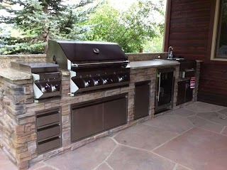 Natural Gas Outdoor Kitchen Louisvillecocustomfeaturingtwineagleswetbar