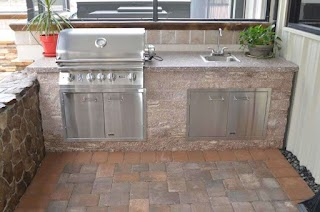 Outdoor Kitchen Orlando Living Sanford Patios Pergolas Clermont Fireplaces
