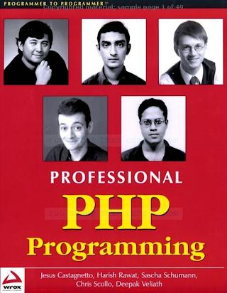 Wrox Press. - Professional PHP Programming.pdf