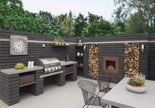 Pavestone Outdoor Kitchen Moodul Walling Block Stuff to Build Cuisine Exterieur