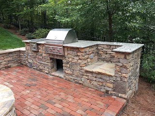 How to Build a Stone Outdoor Kitchen Nturl Ing Sne Grill