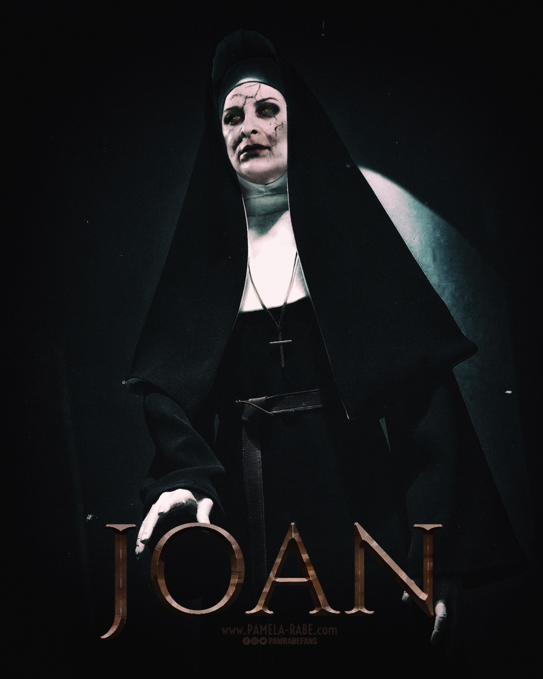 Pamela Rabe | Joan Ferguson as The Nun/Valak | Happy Halloween 2019
