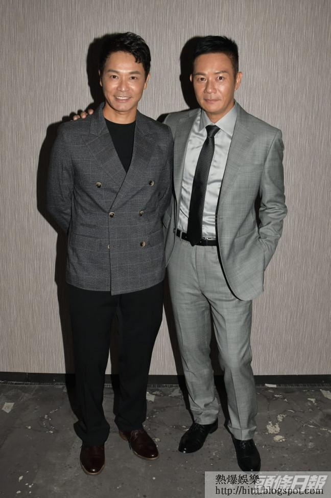 郭晉安與張兆輝在無綫多年,到現在才首次合作。