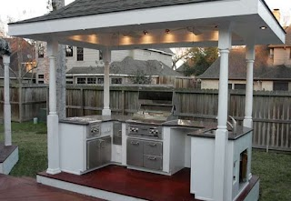 Outdoor Kitchen on a Budget Ides Trends Including Outstnding S