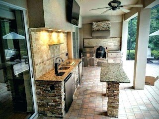 Outdoor Kitchen Planner Backyard Designs S Pictures Appliances Design