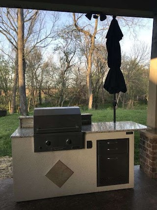 Calise Outdoor Kitchens Kitchen Bbq Grill 7 Ft Island for Sale in Troy Il