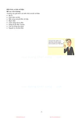 Kiến Thức Cơ Bản Về Điện Ô Tô - Nhiều Tác Giả, 26 Trang.pdf