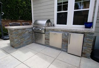Build Your Own Bbq Island Outdoor Kitchen Sink in Grill