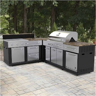 Lowes Modular Outdoor Kitchen Adorable