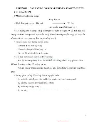 Giáo Trình Truyền Sóng - Ts.Nguyễn Văn Cường, 37 Trang.pdf