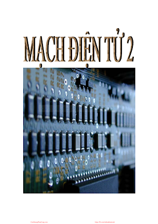 Mạch Điện Tử 2 - Nhiều Tác Giả, 198 Trang.pdf