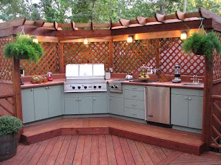 Outdoor Kitchen Decor Wood S Homes Ideas Design Good