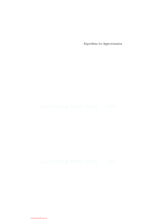 3540332839 {18A06489} Algorithms for Approximation [Iske _ Levesley 2006-10-30].pdf