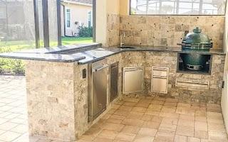 Custom Outdoor Kitchen Concepts Bunnings Units Contractors Kaboodle Builders Las Bbq