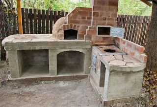 Outdoor Kitchen with Pizza Oven Plans Free Our Home Pinterest