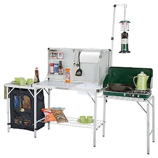 Outdoor Camping Kitchen with Sink Bass Pro Shops Deluxe Camp Review Roundforge