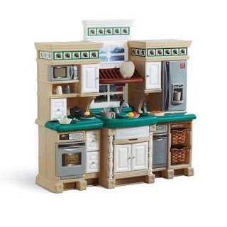 Outdoor Play Kitchen Sets Step2 Lifestyle Deluxe Set Walmartcom Gifts for Others