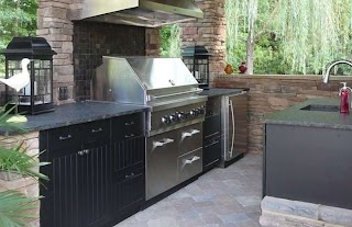 Affordable Outdoor Kitchens Werever Hdpe Cabinets