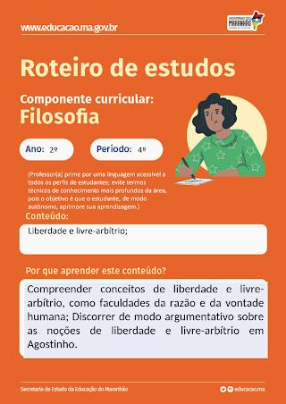 LIBERDADE E LIVRE-ARBÍTRIO (AGOSTINHO, TOMÁS DE AQUINO, SARTRE E OUTROS)