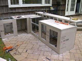 Diy Outdoor Kitchen Kits Steve Weavers Backyard Dream