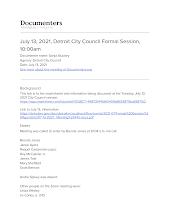 July 13, 2021, Detroit City Council Formal Session, 10:00am