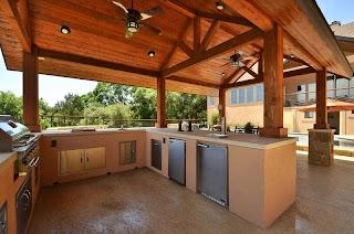 Outdoor Kitchen Austin Custom Design Texas Southern Landscape