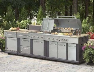 Outdoor Kitchen Lowes Kits Kits Modular