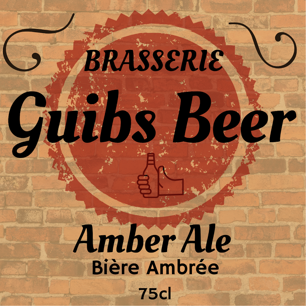 Amber Ale 75cL