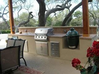 Austin Outdoor Kitchen Custom Design Texas Southern Landscape
