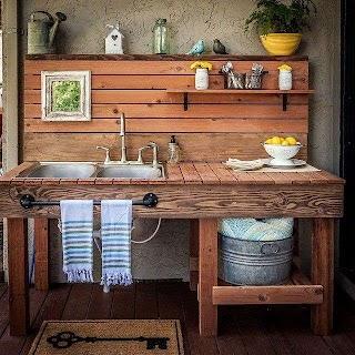 Outdoor Kitchen Sink Ideas Extraordinary Best 25 S on Pinterest S For