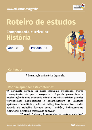 COLONIZAÇÃO DA AMÉRICA ESPANHOLA, INGLESA E FRANCESA